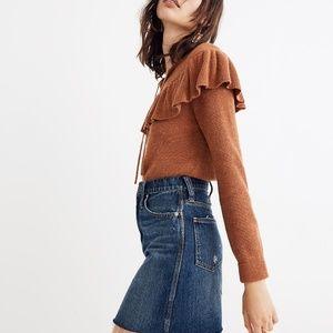 Madewell Rigid Denim Straight Mini Skirt: Reworked